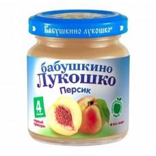 """Пюре из персиков """"Бабушкино лукошко"""""""