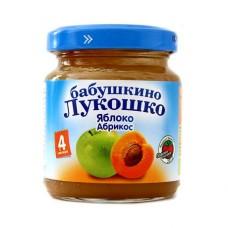 """Пюре из яблок и абрикосов """"Бабушкино лукошко"""""""