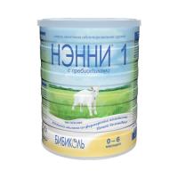 Молочная смесь НЭННИ 1 с пребиотиками на основе козьего молока 400 гр
