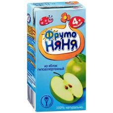 ФрутоНяНя - сок из яблок, осв. (тетра пак), 4 мес 200г