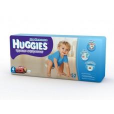 Подгузники - трусики Хаггис Литл Вокерс Мега (4) для мальчиков 9-14кг, 52 шт.