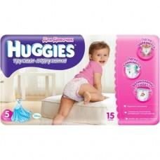 Подгузники - трусики Хаггис для девочек Литл Вокерс (5) 13-17 кг, 15 шт.