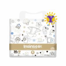 Подгузники INSINSE Q6 (3-6кг S) 30шт