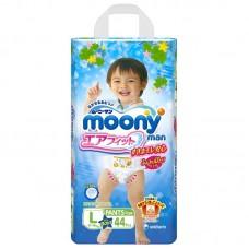 Трусики для мальчика Moony 9-14кг L 44шт