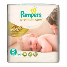 PAMPERS Подгузники Premium Care Junior №5 (11-18кг) 44шт