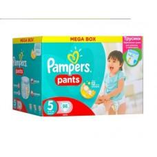 PAMPERS Трусики Pants для мал. и девоч. Junior №5 (12-18кг ) 96шт (2уп)
