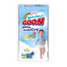 Трусики-подгузники GOON для мальчиков 12-20 кг размер XL