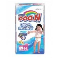 Трусики-подгузники GOON для девочек 9-14кг размер L