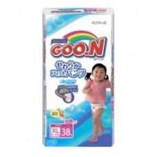 Трусики-подгузники GOON для девочек 12-20 кг размер XL