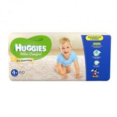 Подгузники Хаггис Ультра Комфорт для мальчиков мега (4+) 10-16 кг, 60 шт.