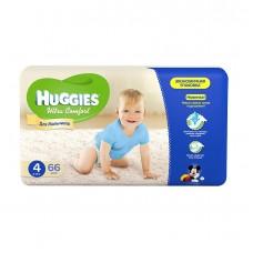 Подгузники Хаггис Ультра Комфорт для мальчиков мега (4) 8-14 кг, 66 шт.