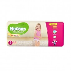 Подгузники Хаггис Ультра Комфорт для девочек мега (5) 12-22 кг, 56 шт.