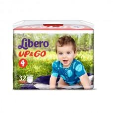 Трусики Либеро Ап энд Гоу эконом макси 7-11 кг (4) 32 шт.