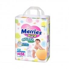 Трусики Merries эконом  медиум 6-10 (58шт)