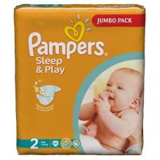 PAMPERS Подгузники Sleep & Play Mini ( 3-6 кг)