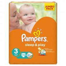 PAMPERS Подгузники Sleep & Play Midi ( 5-9 кг )