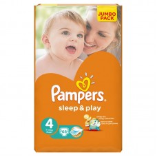 PAMPERS Подгузники Sleep & Play Maxi ( 8-14 кг)
